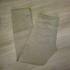 Levis 511 slim tan jeans